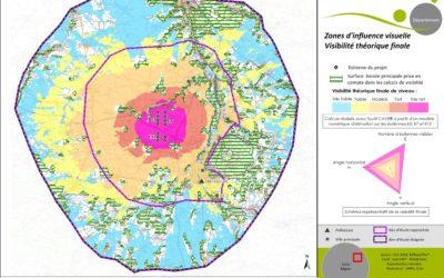 Analyse approfondie de la visibilité d'un parc éolien